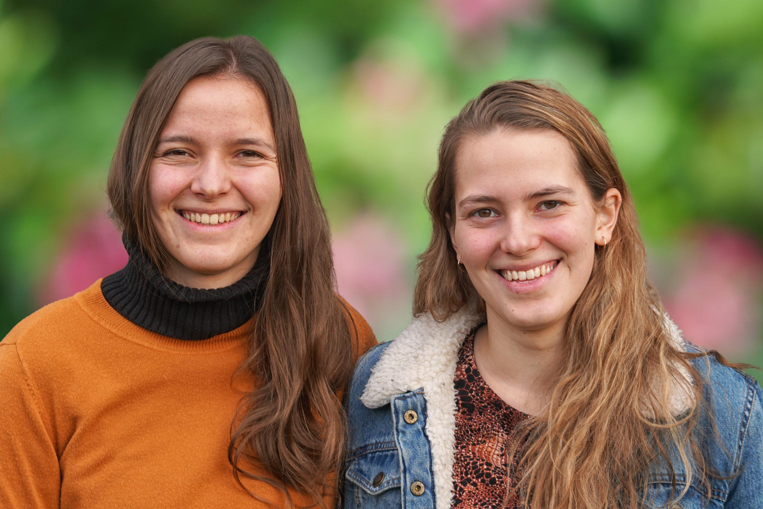Twee jonge meiden – nu al zo vol over een leven met God!